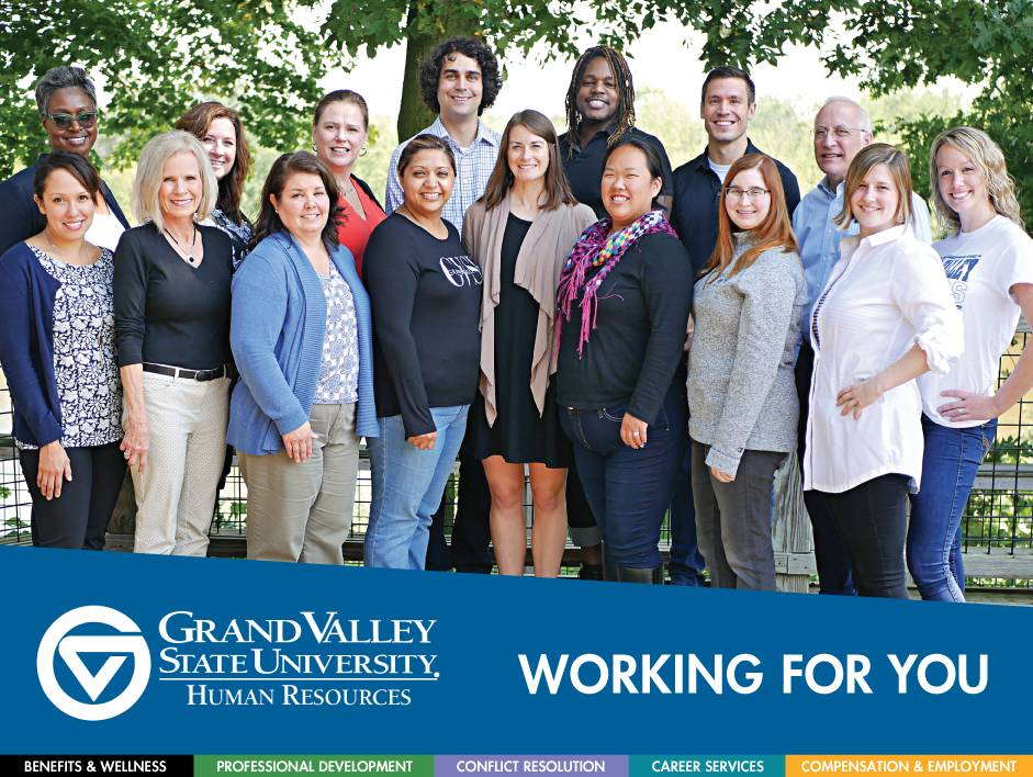 Photo of GVSU Human Resources team members